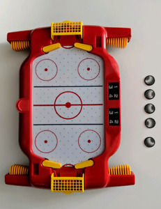 Micro Air-Hockey Table-Top Portable Arena Game