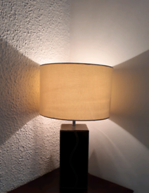 A Pair of matching Lamps with Lampshades: Open to offer