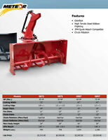 SNOW BLOWERS 3 POINT HITCH