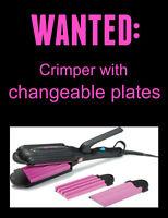 Hair Crimper Needed!!!!!