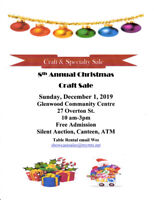 8th Annual Christmas Craft Sale