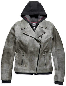 Harley Davidson Womans Leather Jacket Size Small
