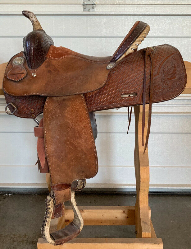 Todd Slone Barrel Racing Saddle for sale