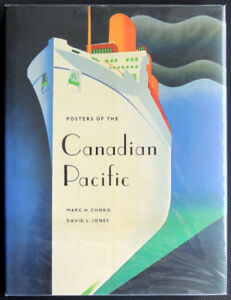 Posters of the Canadian Pacific Hardcover NEW
