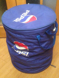 Large Collapsible Insulated Pepsi Cooler
