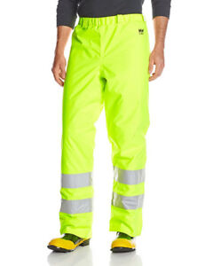 NEW Helly Hansen Men's Alta High Visibility Insulated Work Pant