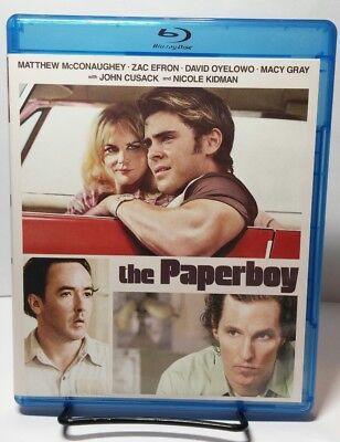 The Paperboy Blu Ray Disc 2013 Matthew Mcconaughey Nicole Kidman Free Shipping