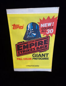 Topps Star Wars Empire Strikes Back Giant Photocards Sealed.