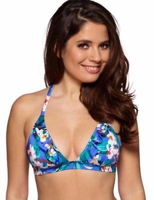 Triangle Halter Bikini Top (Gossard Blossom Triangle Halter Bikini Top Bra 11275)
