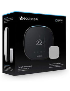 Ecobee4 AlexaEnabled Thermostat With Sensor-New-FREE DELIVERY