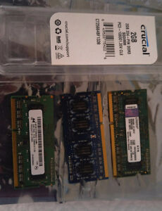 Kingston and Crucial RAM