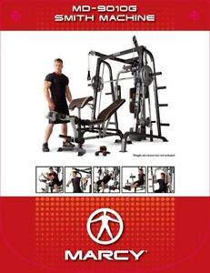 NEW IN BOX Home Gym  Marcy Diamond Elite  Smith Cage