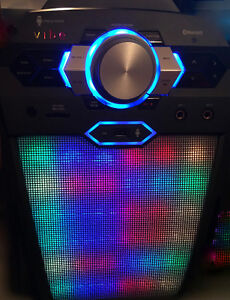 KARAOKE DIGITAL SYSTEM+BUIILT-IN 100W SPEAKER/LIGHTS..