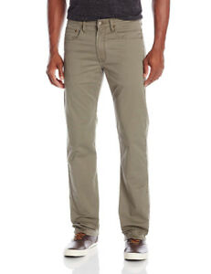 Wrangler Vintage Straight men's pants, 38 x 28 grey/olive