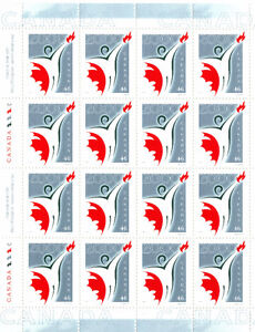 Canada Stamps - 2000 Millennium Partnership Program 46c Sheet West Island Greater Montréal image 1