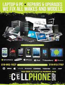 FIXING ALL CELLPHONE MAKES - SAMSUNG LG IPHONE IPOD IPAD ....