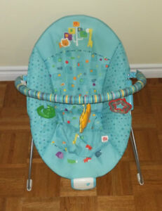 Deluxe Vibrating Baby Bouncer
