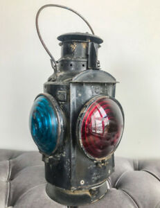 Antique CNR Railway lantern