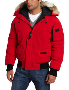Canada Goose' Chilliwack Fusion Fit Bomber Jacket - Men's Small - Red