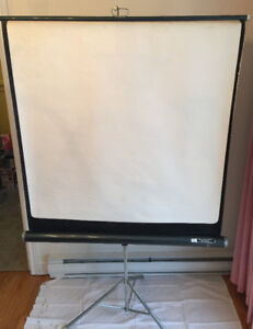 Portable projection screen vintage Price drop