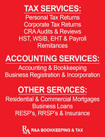 BusinessRegistration & Incorporation ,Bookkeeping,Tax, Mortgages