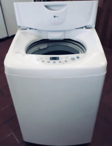 NEW apartment 2.6 Cu.ft portable washer w/wheels ...can deliver