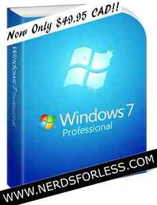 GENUINE WINDOWS 7/8/10 PROFESSIONAL EDITIONS! $$ SAVE $$