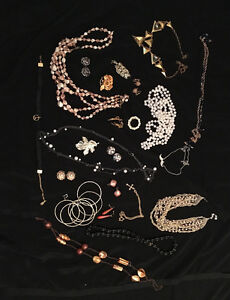 VINTAGE Retro Costume Jewellery (Burlington)