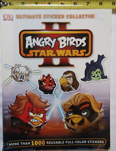 Star Wars Angry Bird Ultimate Sticker Book - missing stickers
