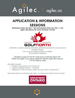 Application & Information Sessions