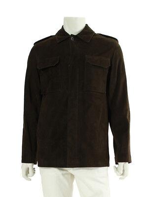 LOUIS VUITTON nubuck safari jacket