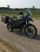 2013 Triumph Tiger XC800 Loaded w Access 1 Owner 11,900.00