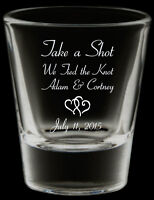 Printed Wine and Shot Glasses For Your Wedding