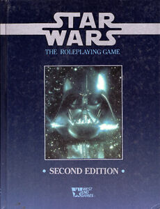STAR WARS: The Roleplaying Game Rulebook West End Games 1994 Hcv