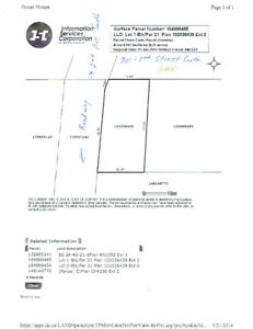 Corner Residential Lot for Sale in St. Brieux, SK
