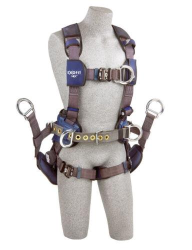 DBI Sala Exofit Nex Full Body Tower Climbing Safety Harness & Seat 1113192 Used