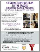 Introduction to the Trades Training program for Women