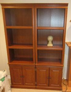 Two book cases ONE GREAT PRICE