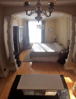 Sunny & Charming Furnished Apartment - 4 1/2