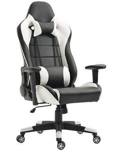 Chaise a haut dossier pivotante en cuir, neuve - 250$