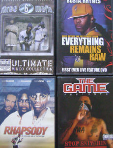 Gangster Rap DVD collection
