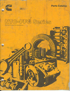 Cummins NTC-FFC  engine manual