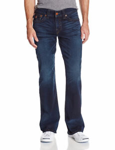 True Religion Men's Billy Bootcut Jean Midnight Pass 33X34 (BNWT