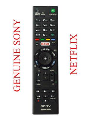 GENUINE Sony TV Universal Remote Controller - All Sony Bravia NETFLIX TV Models