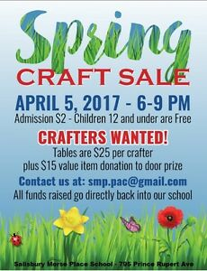 Crafters Wanted - SMP Craft Sale