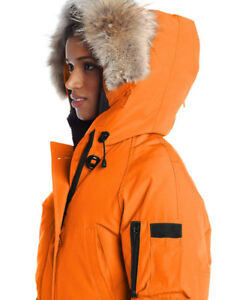 NEW WITH TAGS Canada Goose Chilliwack Bomber, Large, ORANGE