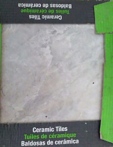 Brand new ceramic tiles about 100 sq.ft (8 boxes)
