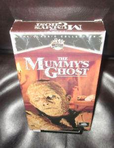 THE MUMMYS GHOST....VHS