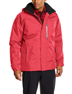 Columbia Men's Tall Alpine Action Jacket, Mountain Red, 4X/T