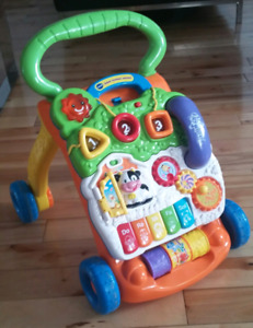 Vtech Sit To Stand Learning Walker - like new!